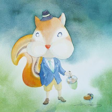 Masako Masukawa Squirrel 25 x 25 cm
