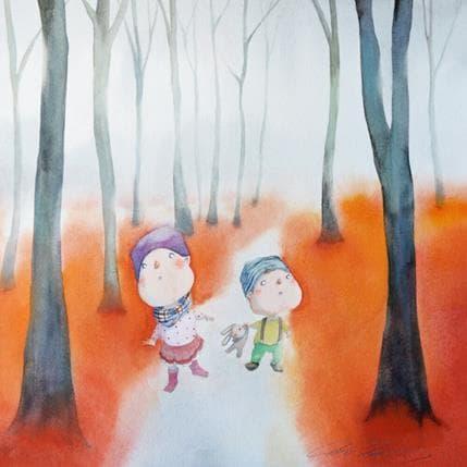 Masako Masukawa Fall 36 x 36 cm
