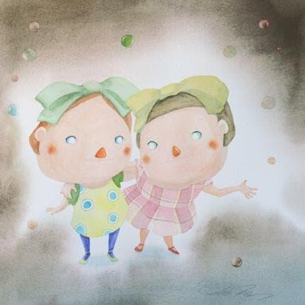 Masako Masukawa Best friends 36 x 36 cm