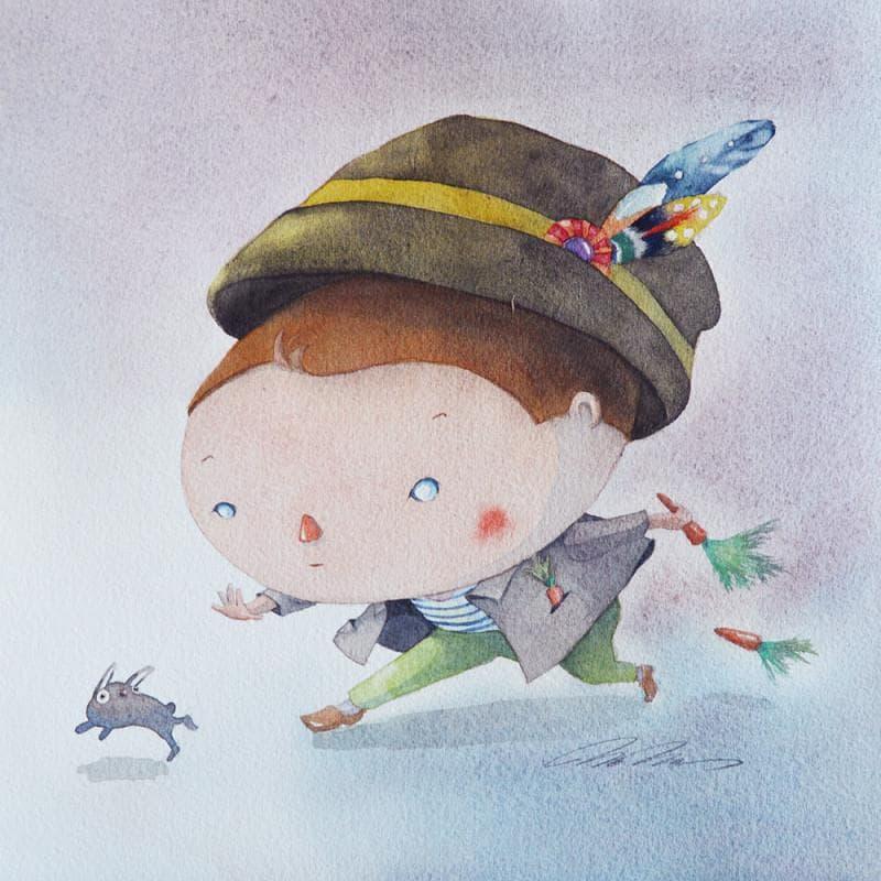 Small paintings Illustrative Watercolor</h2>