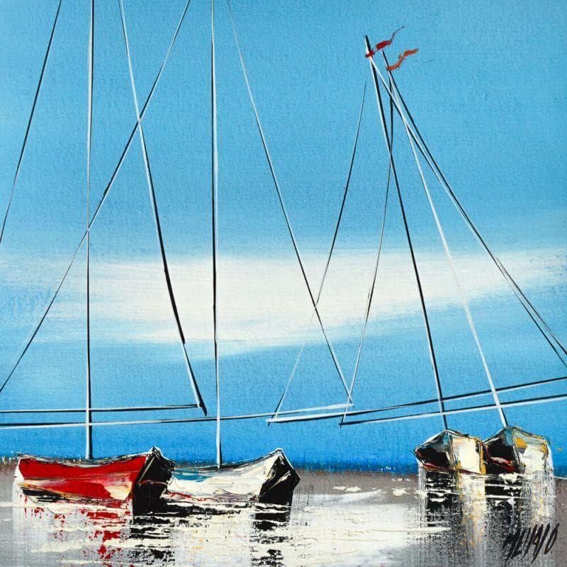 Le voilier rouge