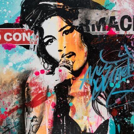 Mestres Sergi Amy Winehouse 50 x 50 cm