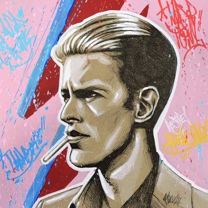 Mark Mestre Bowie 19 x 19 cm