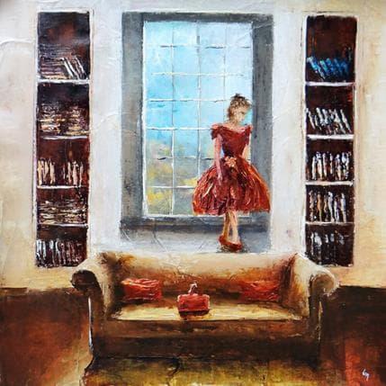 Virginie Mezan de Malartic Pas de danse 36 x 36 cm