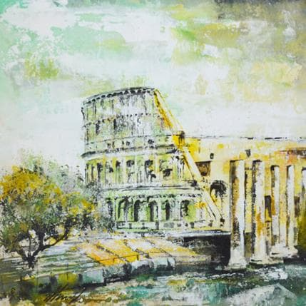 Claudio Missagia Colosseo 25 x 25 cm