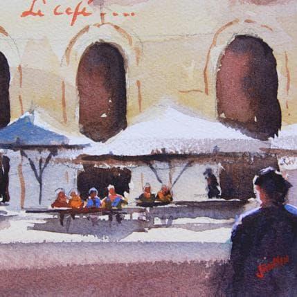 Jan Min Le café 13 x 13 cm