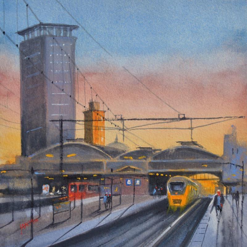 Central station Den Haag