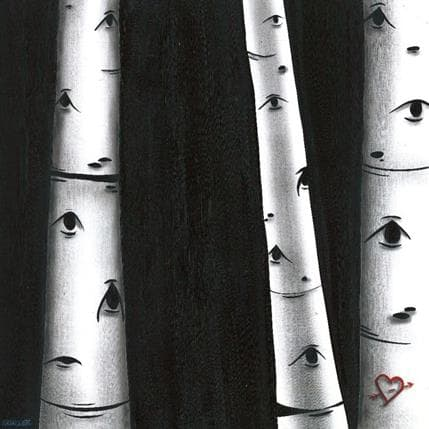 Natasha Miller Close your eyes 36 x 36 cm