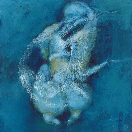 Muze Jeune fille accroupie 13 x 13 cm