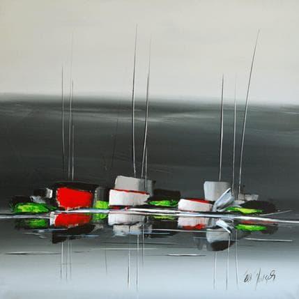 Eric Munsch Moderne marine 100 x 100 cm