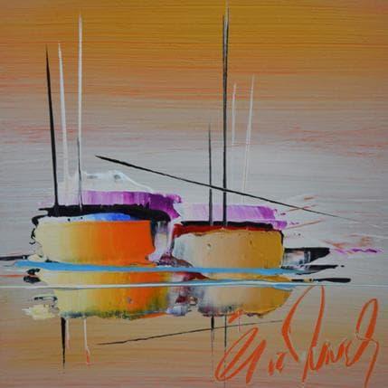 Eric Munsch Voyage d'or 13 x 13 cm