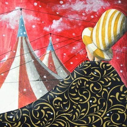 Nai Un bel mantello caldo da circo 13 x 13 cm