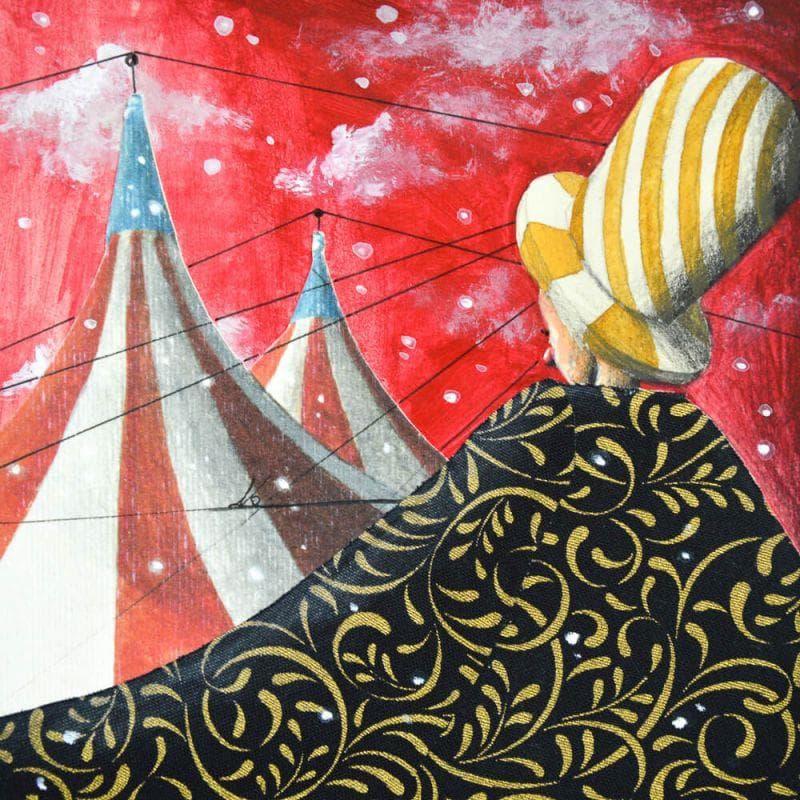 Un bel mantello caldo da circo