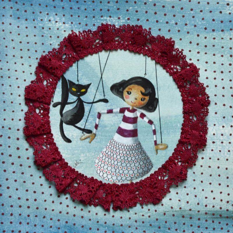 La marionetta Marti e il gatto di Montmartre
