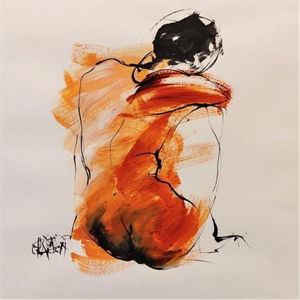 Martine Chaperon Jeu de taches 6 36 x 36 cm
