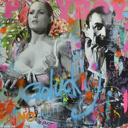 Fabien Novarino Go lucky 80 x 80 cm