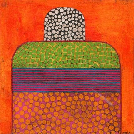 Gustavo Ortiz Maleko n°16 19 x 19 cm