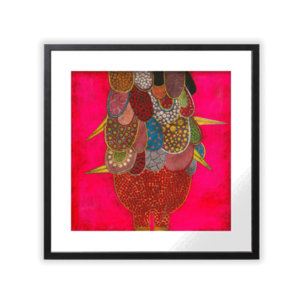 Gustavo Ortiz Bird 36 x 36 cm