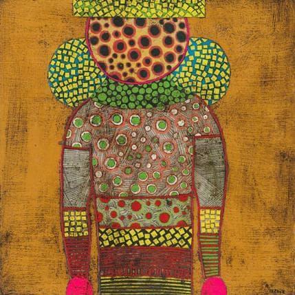 Gustavo Ortiz Faceless ona n°1 25 x 25 cm