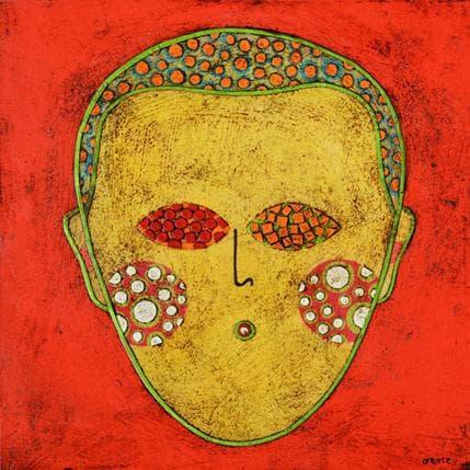Gustavo Ortiz Childhood portrait n20 19 x 19 cm