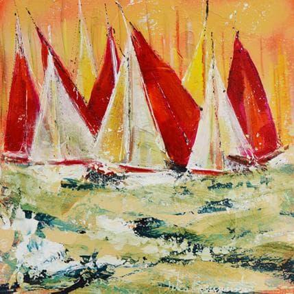 Nicole Ortis-Bommarito Red 25 x 25 cm