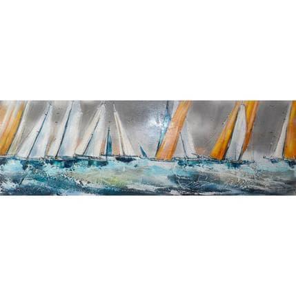 Nicole Ortis-Bommarito Jour de pluie 120 x 40 cm