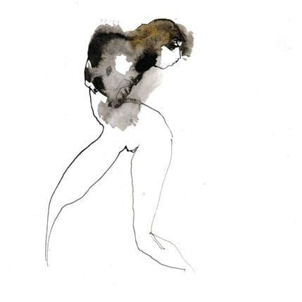 Corine Pagny Nu 21 25 x 25 cm