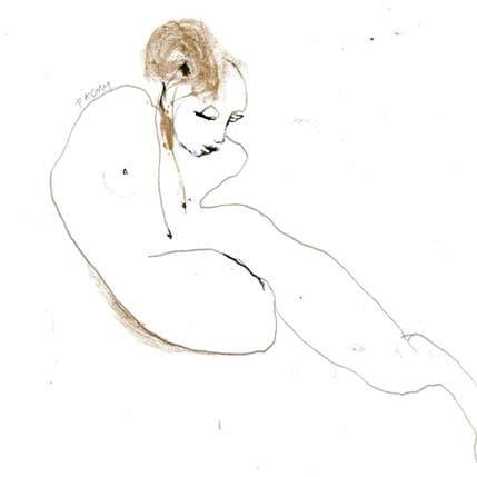 Corine Pagny Nu 4 19 x 19 cm