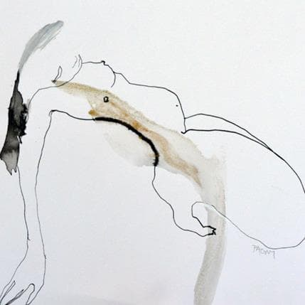 Corine Pagny Nude 2 19 x 19 cm