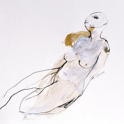 Corine Pagny Nu 621 25 x 25 cm