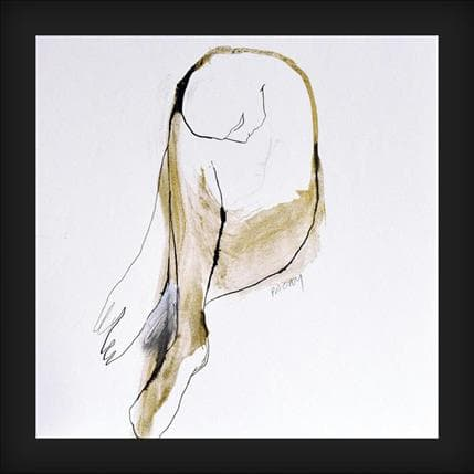 Corine Pagny Nu 620 25 x 25 cm