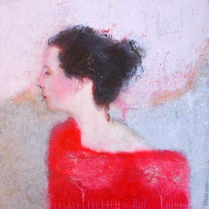 Véronique Paquereau La bretonne 25 x 25 cm