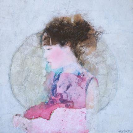 Véronique Paquereau Lady pink 25 x 25 cm