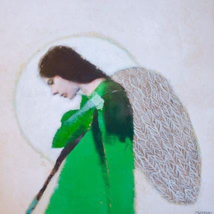 Véronique Paquereau Mon ange 36 x 36 cm
