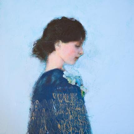 Véronique Paquereau Pensive 36 x 36 cm