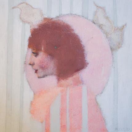 Véronique Paquereau Ma sentinelle 36 x 36 cm
