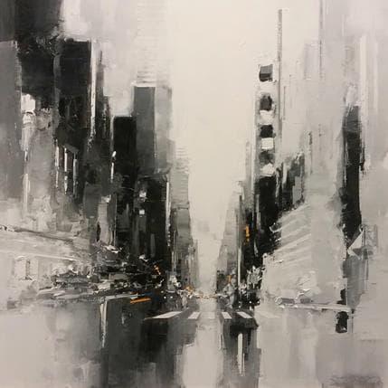 Daniel Castan Time square 80 x 80 cm