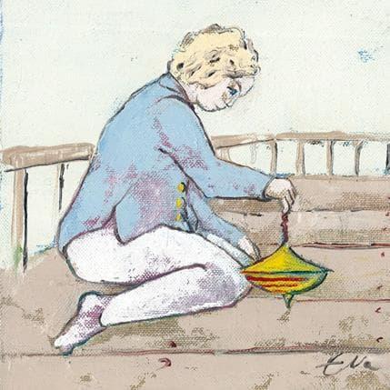 Eva Petkova Spinning top 19 x 19 cm