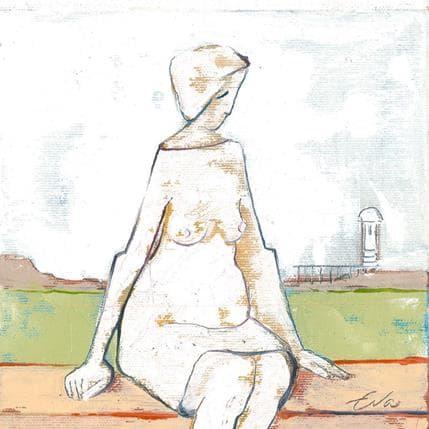 Eva Petkova A rest 19 x 19 cm