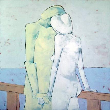 Eva Petkova Touch 100 x 100 cm
