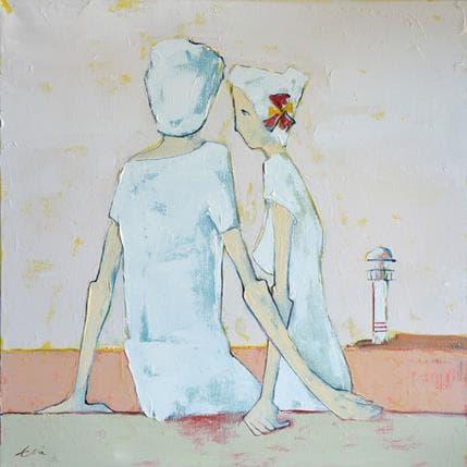Eva Petkova Right beside you 50 x 50 cm