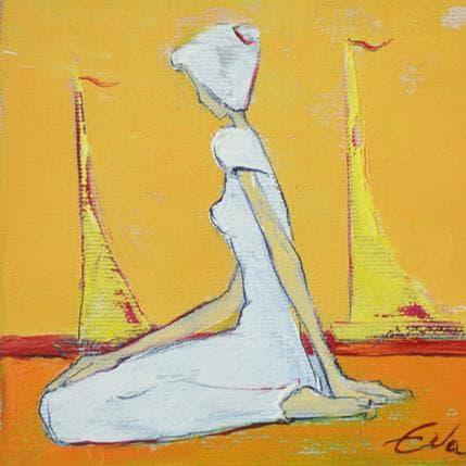 Eva Petkova Boats 13 x 13 cm