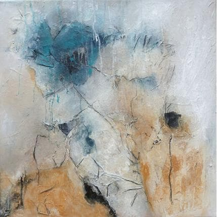 Han Saison bleue 1 50 x 50 cm