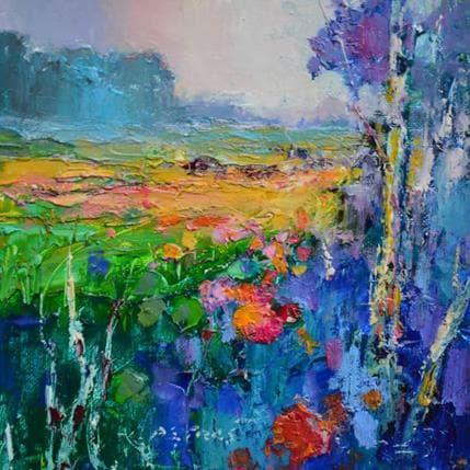 Ivica Petras Landscape 19 x 19 cm