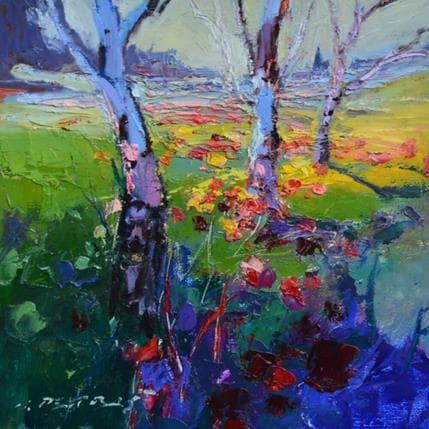 Ivica Petras Trees 25 x 25 cm