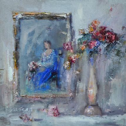 Ivica Petras Little portrait 25 x 25 cm