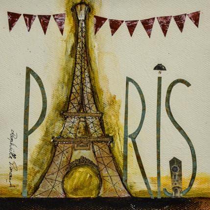 Raphaëlle Penaud Paris en fête 13 x 13 cm