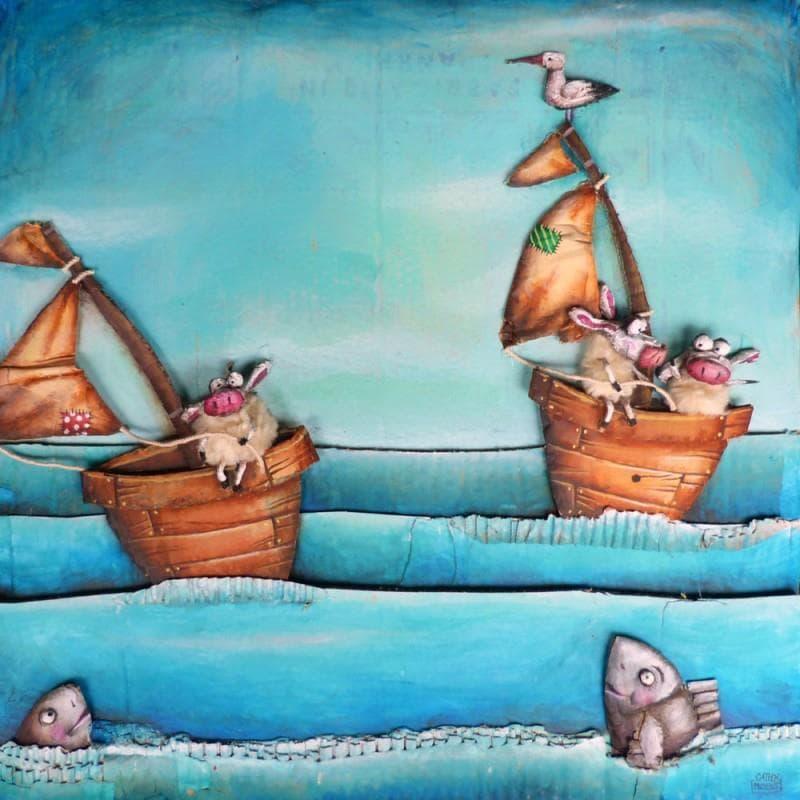 Moutons bateaux