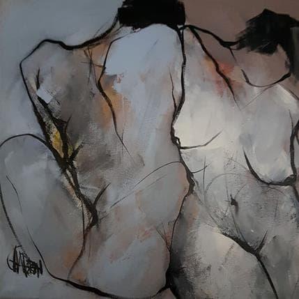 Martine Chaperon Ensemble 50 x 50 cm