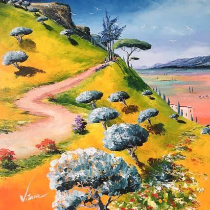 Vitoria Les terres d'olivier 50 x 50 cm